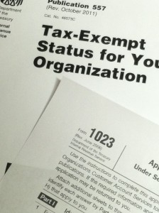 Please give your comments to the IRS on a shorter application for tax exempt status