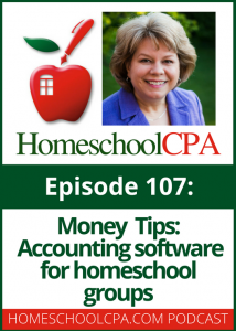 Accounting Software for Homeschool Groups